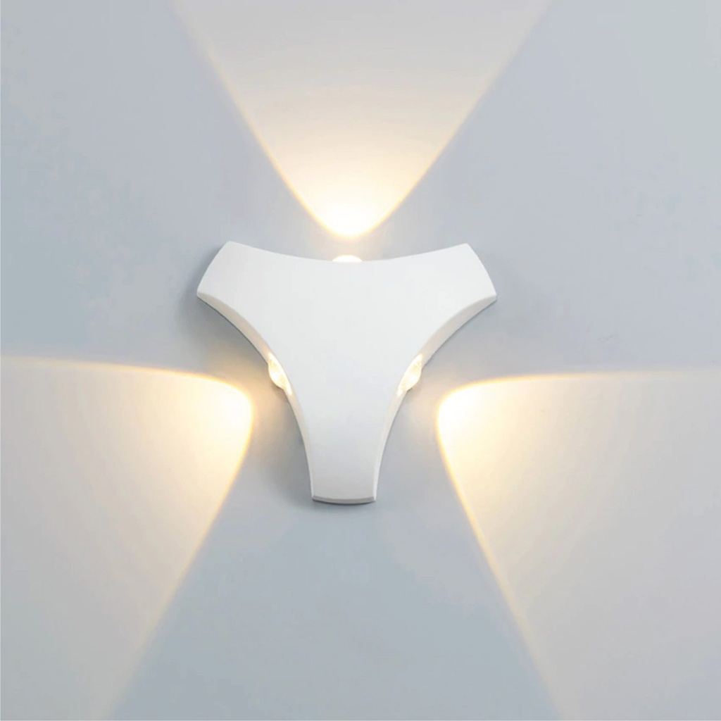LED Outdoor Wall LIGHT JKF803A 3*3W WW WHITE
