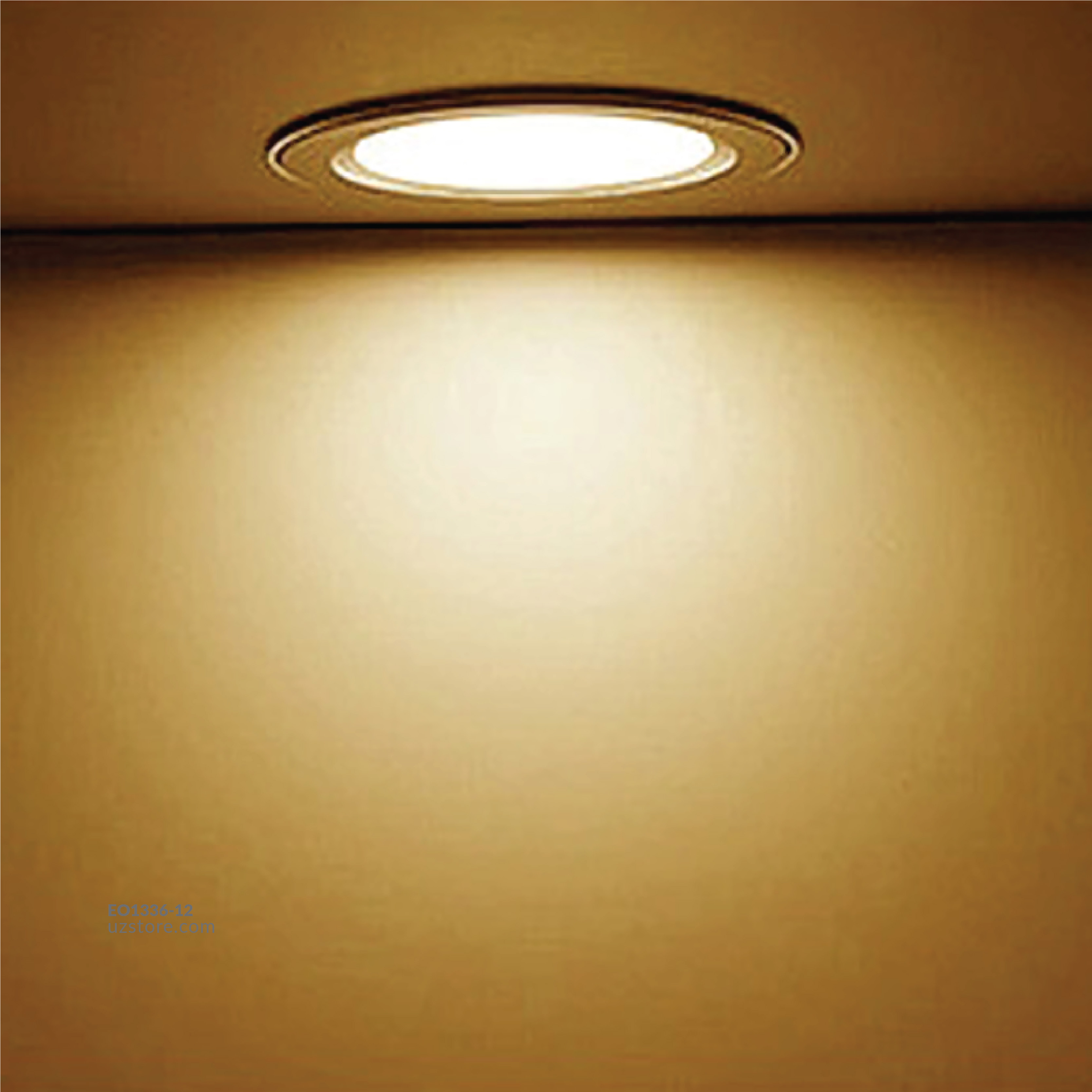 OMEX - RD Slim panle Light Led 12w WW
