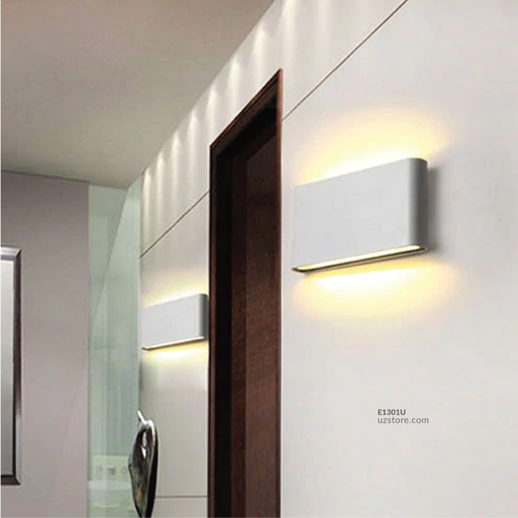 LED Outdoor Wall LIGHT AC-44/L WW Silver