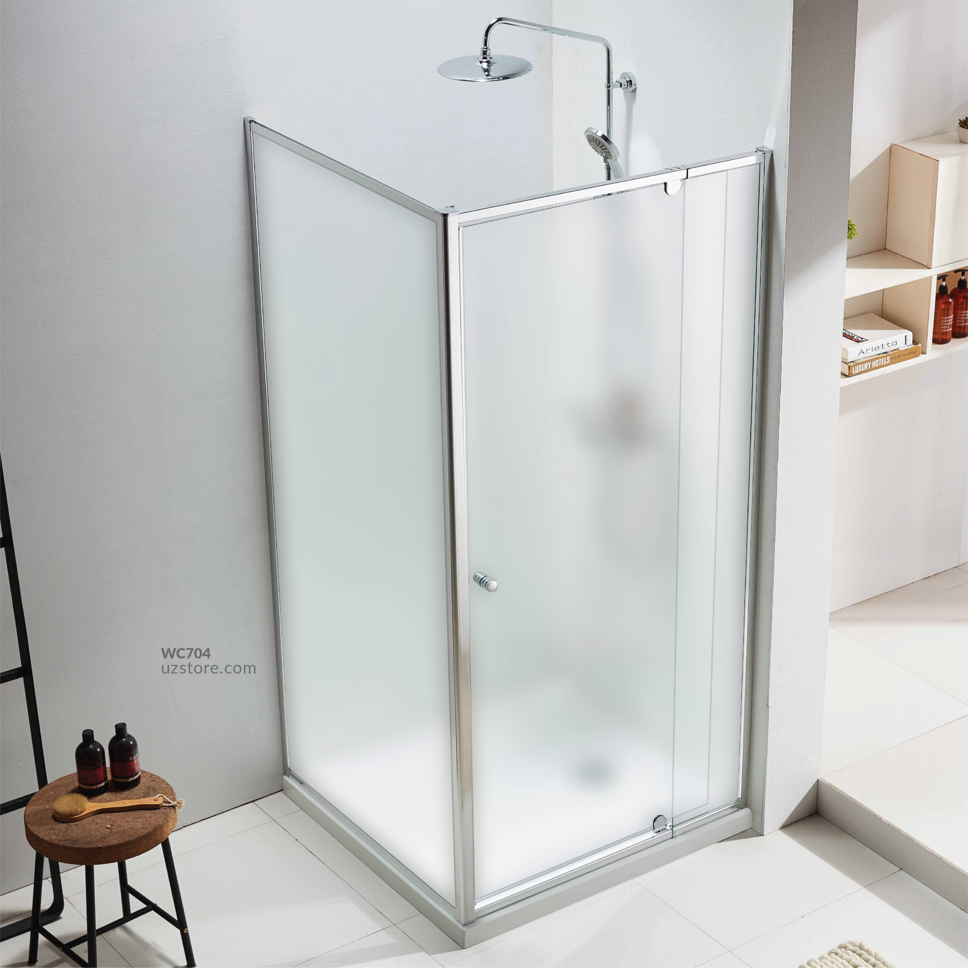Shower Room With Tray JP002A-Frosted