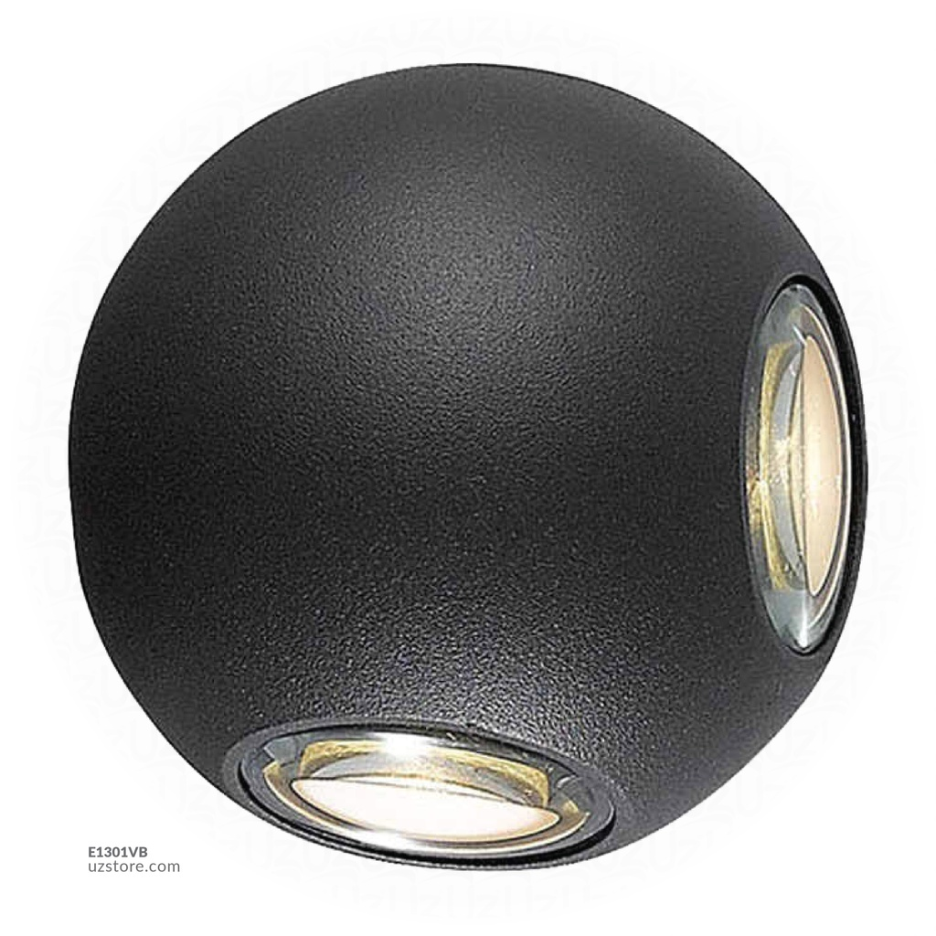 LED Outdoor Wall LIGHT AB-01 WW BLACK