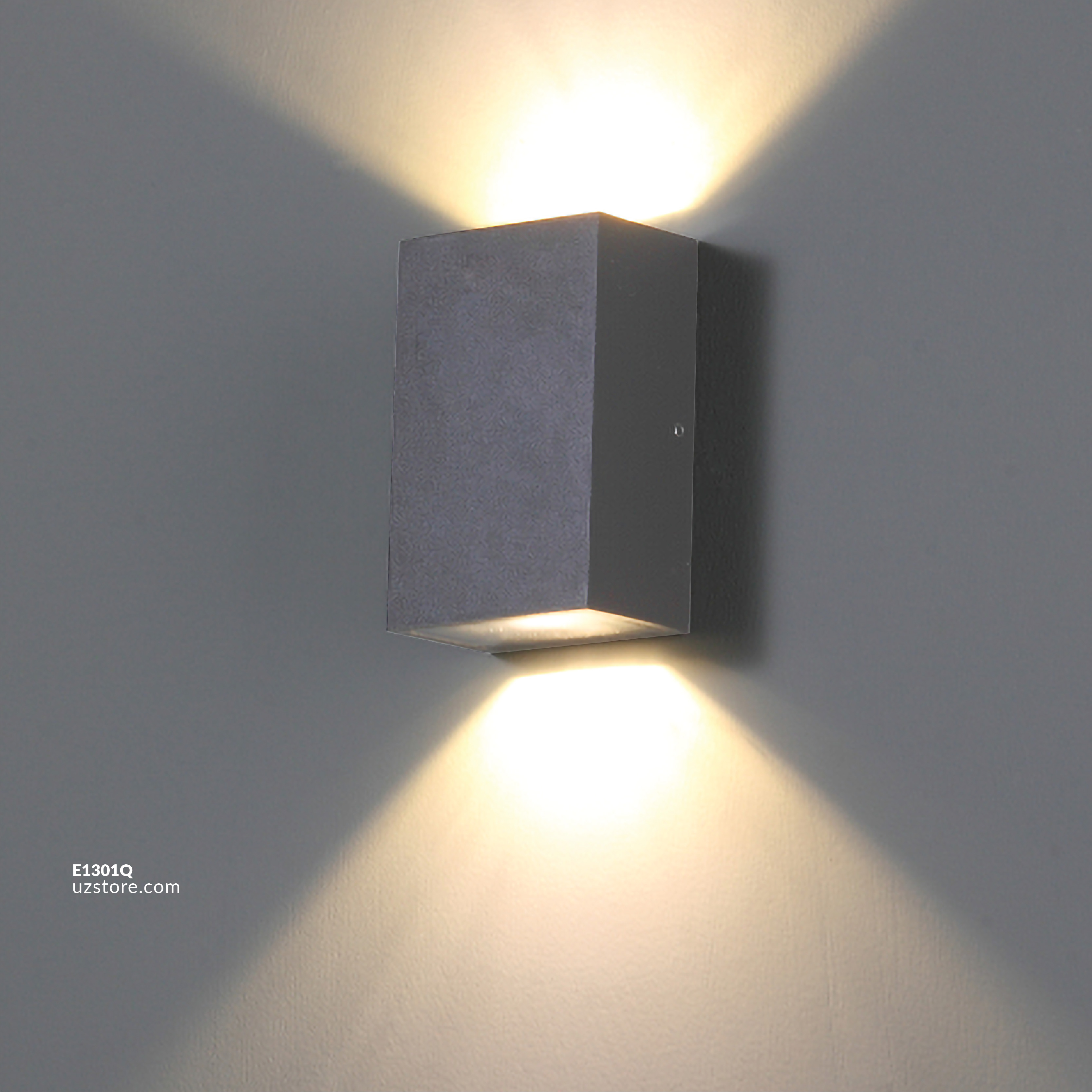 LED Outdoor Wall LIGHT W19 3W WW Silver