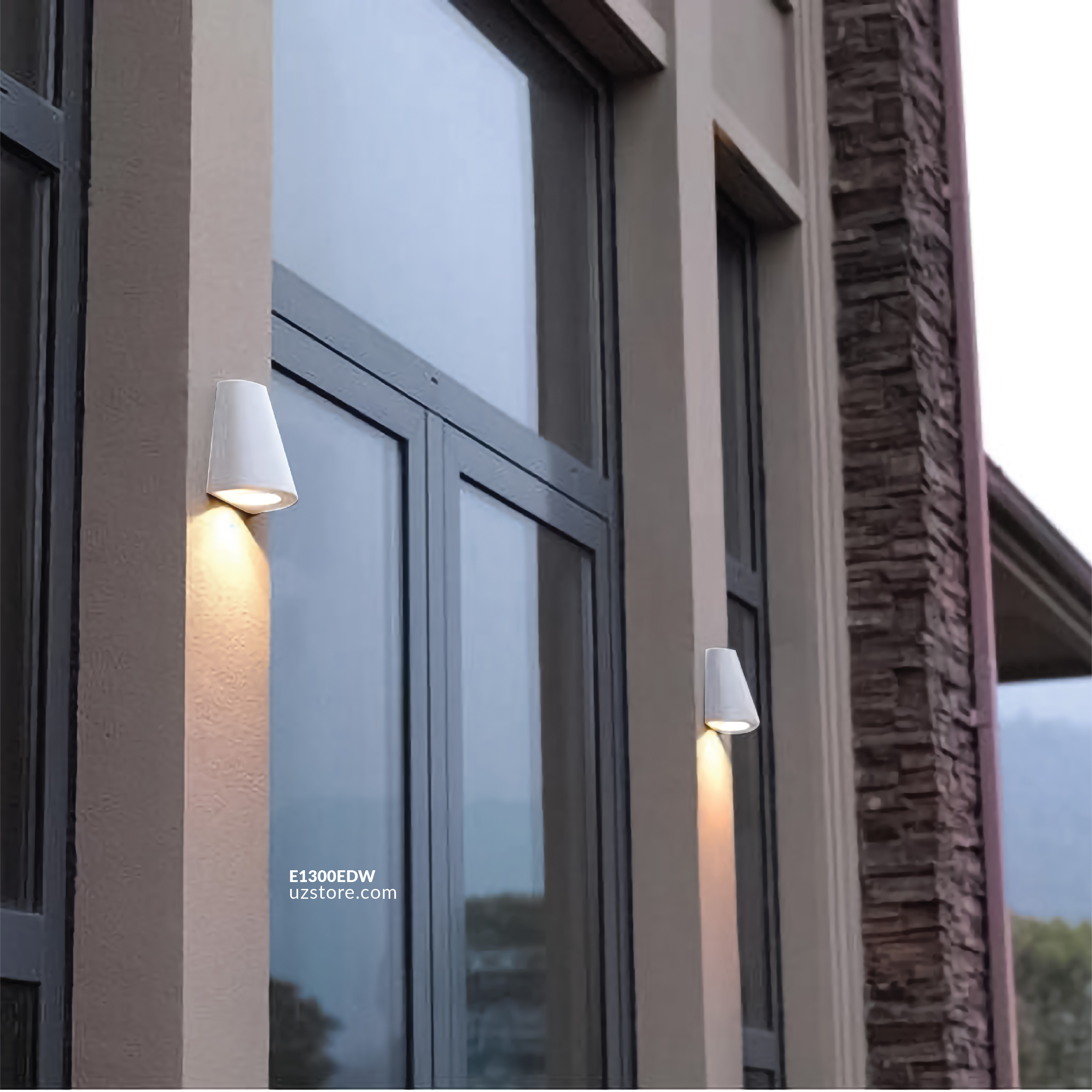 LED Outdoor Wall LIGHT  JKF497-23W WW White