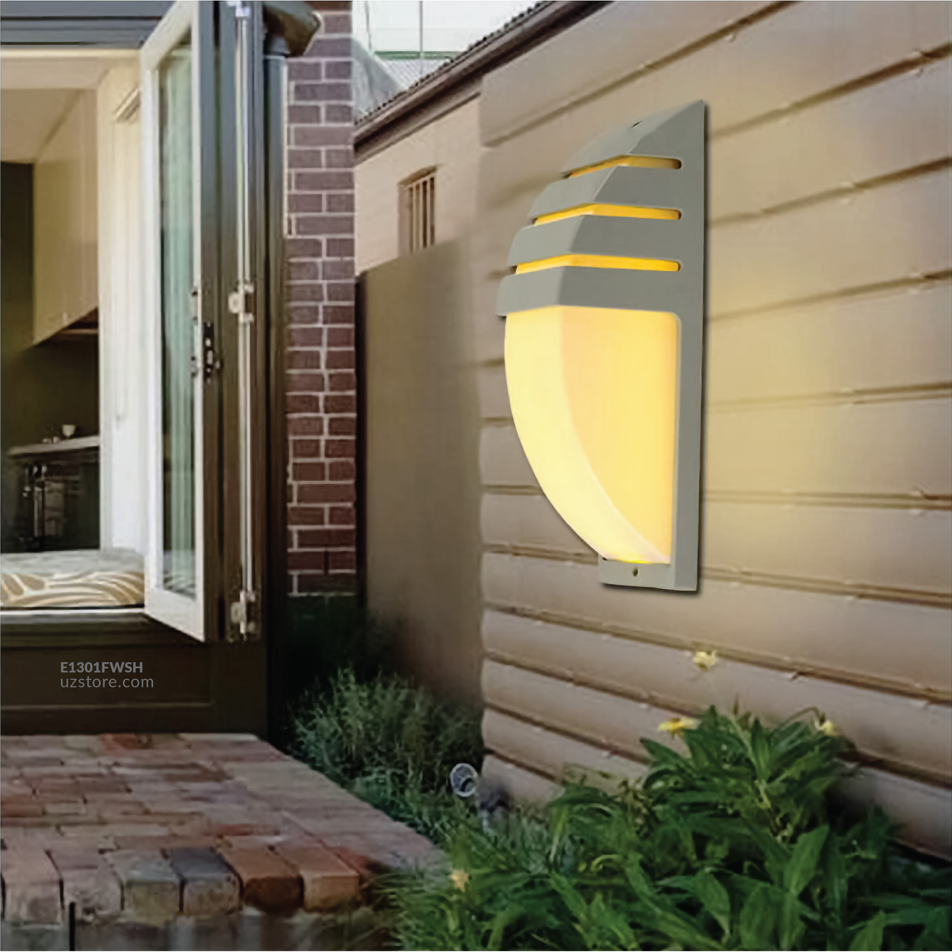 LED Outdoor Wall LIGHT  JKF26/S3W WW White