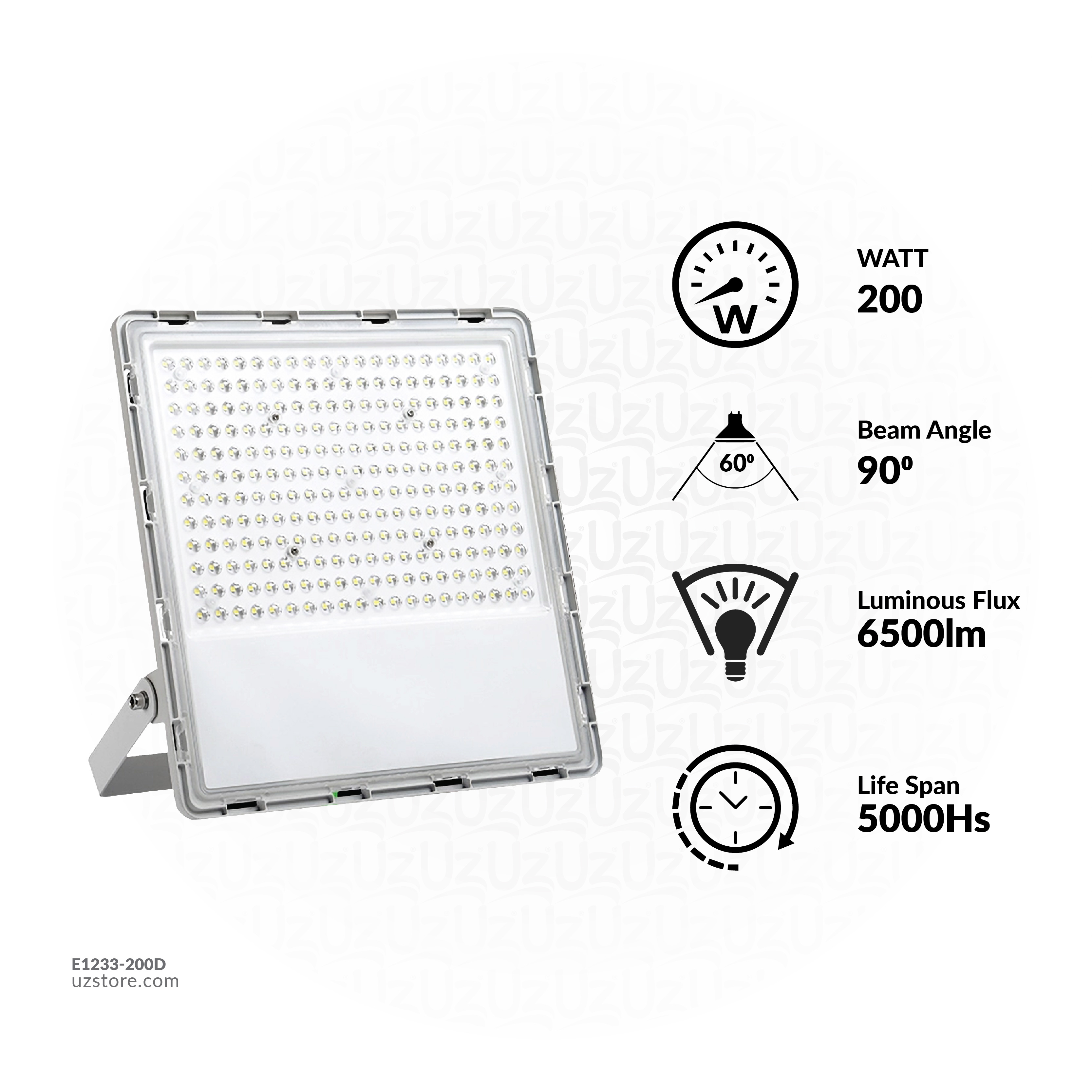 Flood light LED VR833-200W Daylight 240pcs SMD2835
