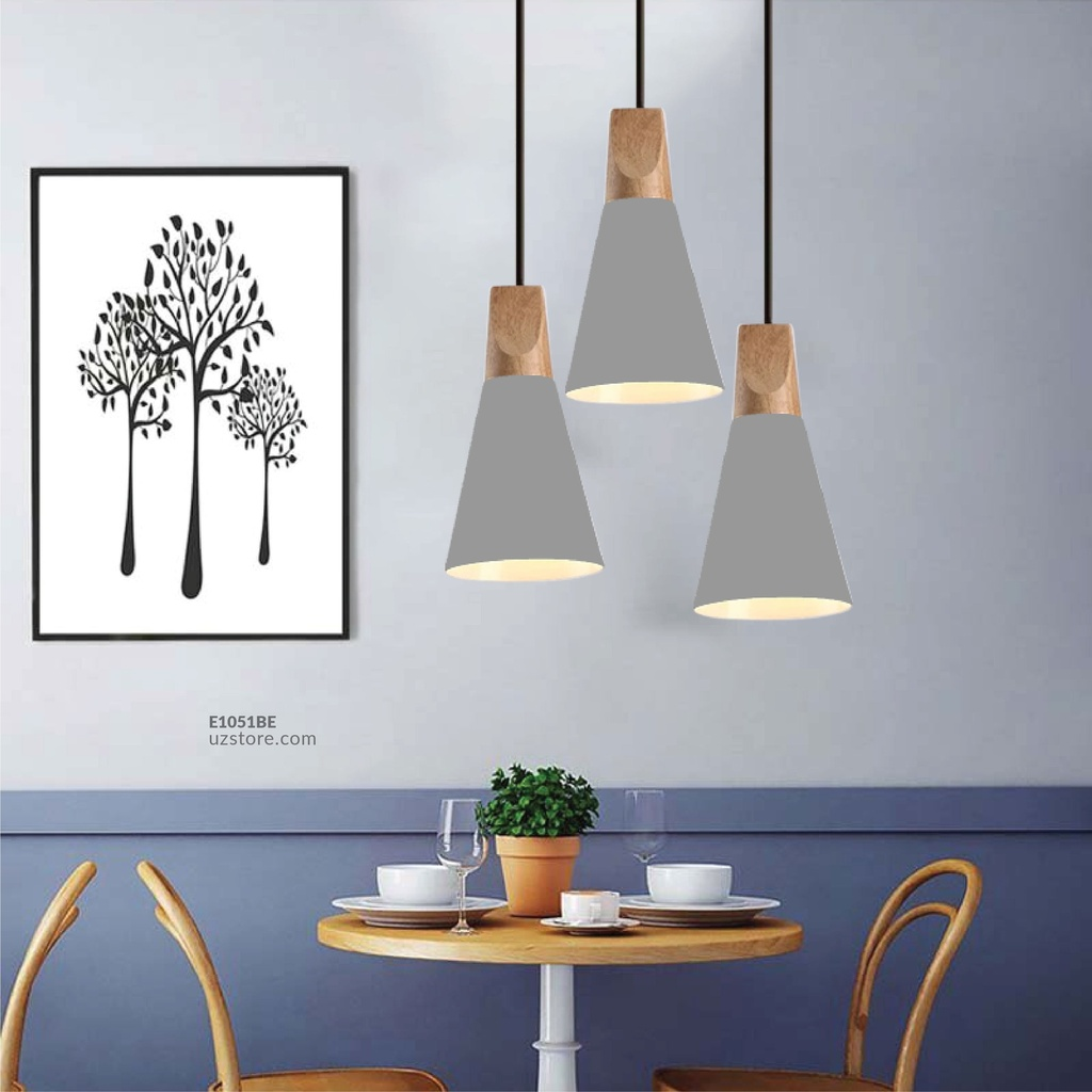 Hanging Light E27 7745/A GREY