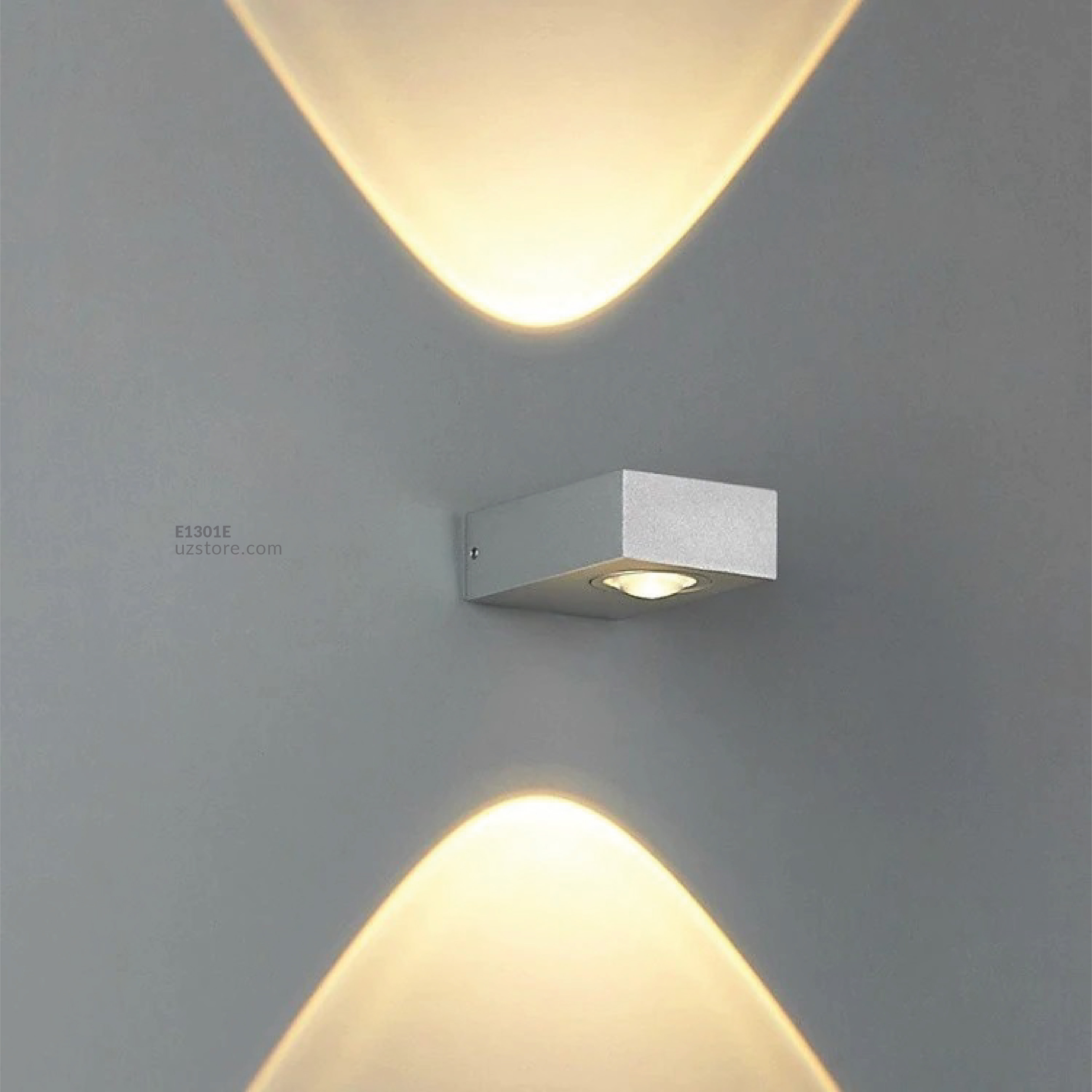 LED Outdoor Wall LIGHT 800-2 6W WW WHITE