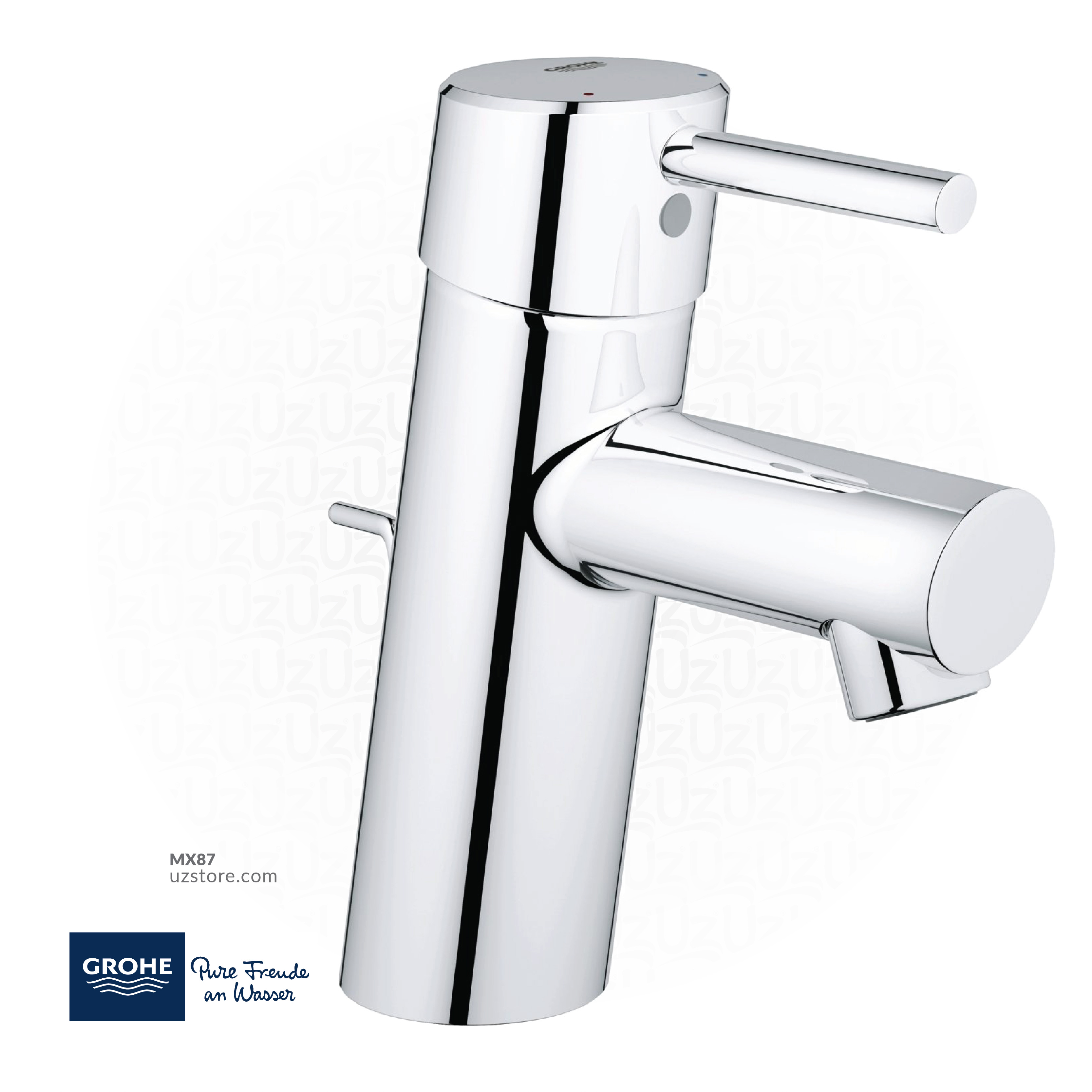 GROHE Concetto Single-lever basin mixer 1/2″ S-Size 32204001