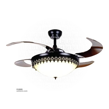 [E1280D] Decorative Fan With LED 3073-F42-3131