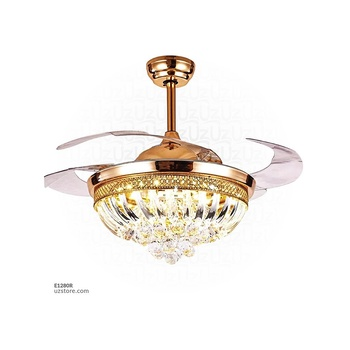 [E1280R] Decorative Fan With LED (9154)-XY-777