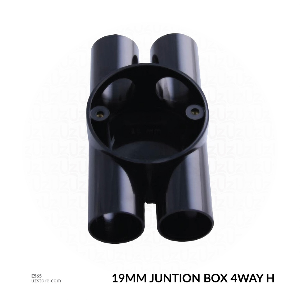 19MM JUNTION BOX 4WAY H