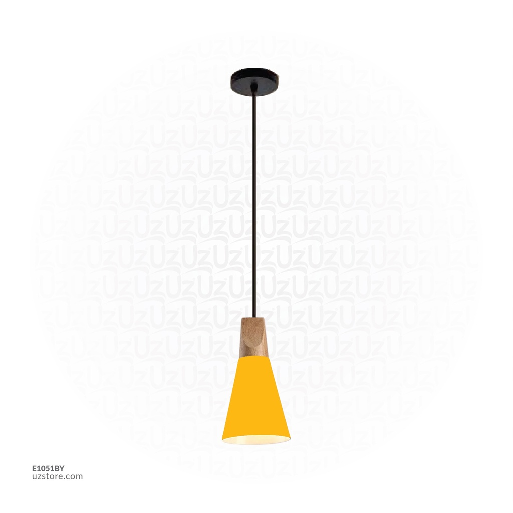 Hanging Light 7745/A LIGHT YELLOW