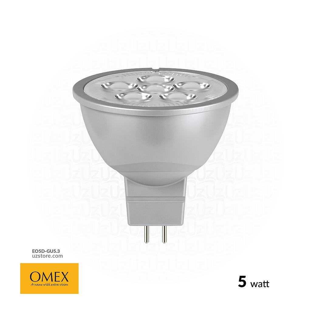 OMEX LED Spot lamp 5w WH GU5.3 MR16