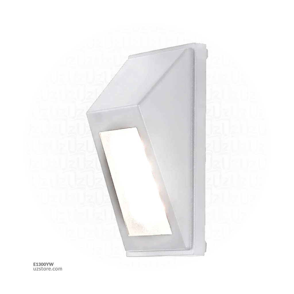 LED Outdoor Wall LIGHT JKF825 10W WW WHITE