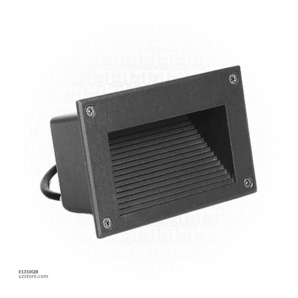LED Outdoor Step LIGHT Q01-3W WW BLACK