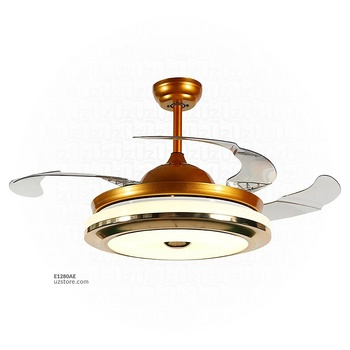 [E1280AE] Decorative Fan With LED 3066