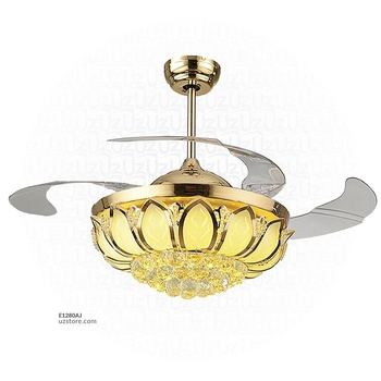 [E1280AJ] Decorative Fan With LED 3067