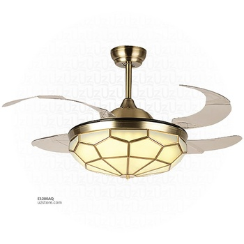 [E1280AQ] Decorative Fan With LED 630