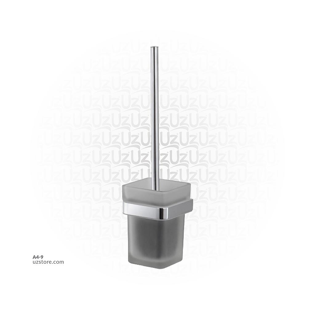 Chromed Toilet brush holder Brass & stainless steel