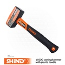 Shind - 1500G stoning hammer with plastic handle 94571