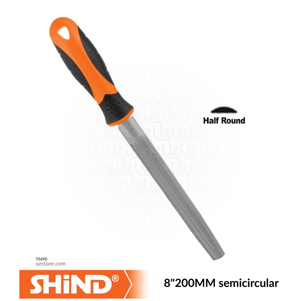 "Shind - 8""200MM semicircular file 94629"