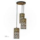 triple Islamic inscription Hanging light 3955