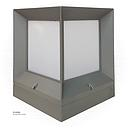 LED Outdoor Stand LIGHT  JK2091/M  WW Silver