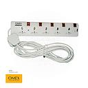 Extension bar with wire10m 5way OMEX