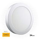 OMEX - Srufac LightLight ROUND 3500K 24W WW