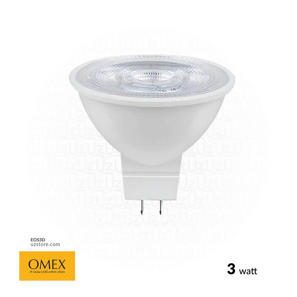 [EOS3D] OMEX LED Lamp Spotlight- 3W Daylight