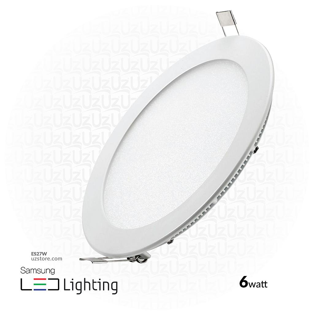 [ES27w] LED spot Light (SAMSUNG 3001) 6W - Warm White