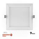 "OSRAM LED SLIM PANEL DOWN LIGHT SQUARE 4"" 9W Half white 4000K"
