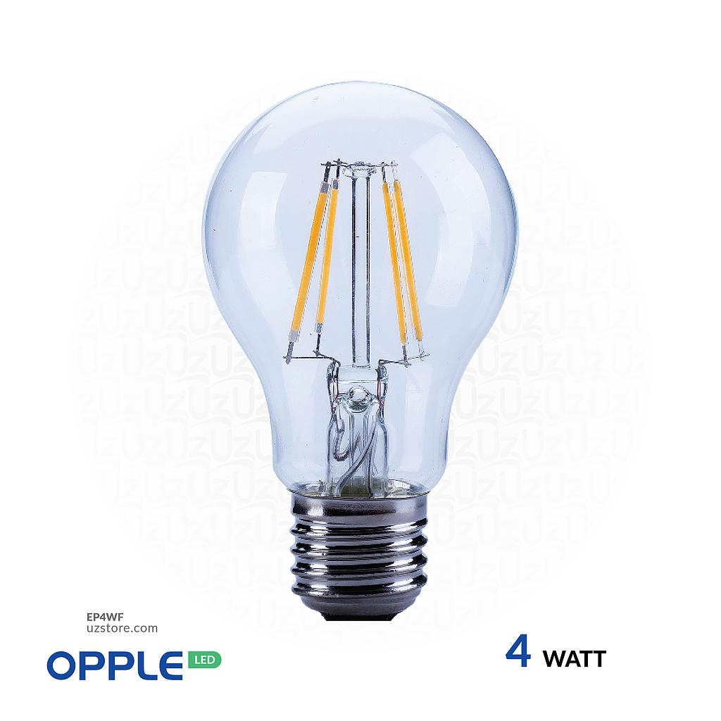 [EP4WF] OPPLE LED Filament Lamp 4W Warm White E27