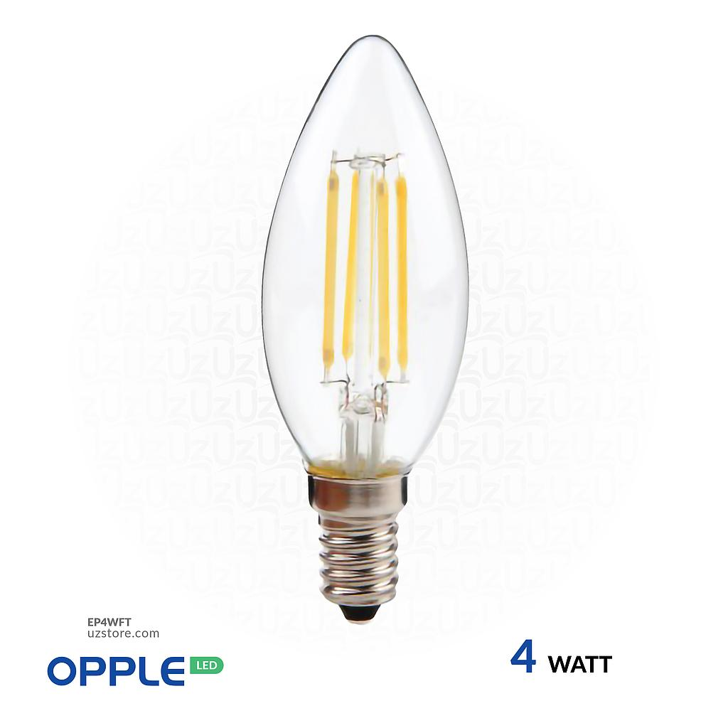 [EP4WFT] OPPLE LED Filament Lamp 4W Warm White E14
