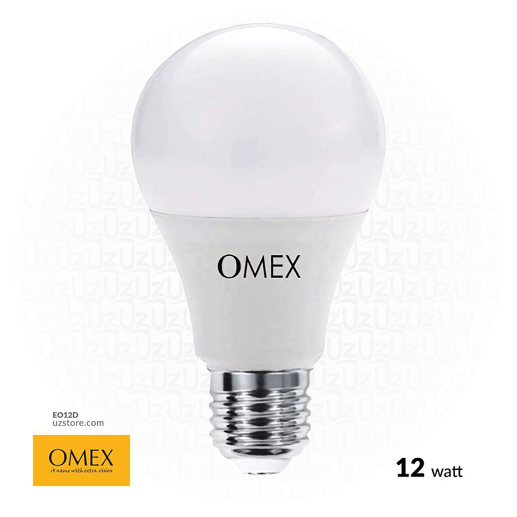 [EO12D] OMEX LED Lamp 12W White E27