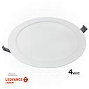 "OSRAM LED SLIM PANEL DOWN LIGHT ROUND 3"" 4W Half white 4000K"