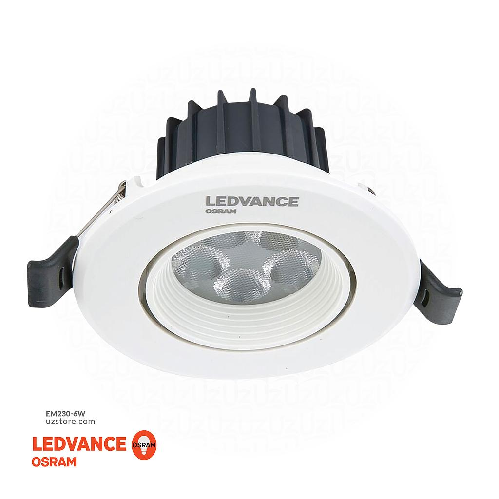[EM230-6W] OSRAM 3000K ADJ SPOTLIGHT,6W, MR-16 REPLACEMENT, 20000 HRS 3""