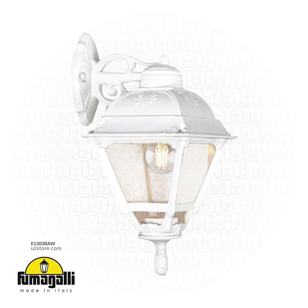 [E1303RAW] FUMAGALLI BISSO/CEFA WALL CLEAR E27 WH Made in Italy