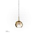 Amber Glass Hanging Light MD3227-130 D130