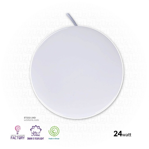 [ET234-18D] LTF 18W LED Recessed Circle Light series IP65 CHI LINE Daylight