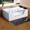 Jacuzzi(Rectangle)ZS-8527 Double Acrylic bathtub  1200*1750
